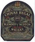 Label Chivas Regal