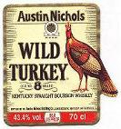 Label wild Turkey